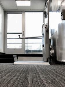 Xpress II in premium office building in downtown Washington DC, USA