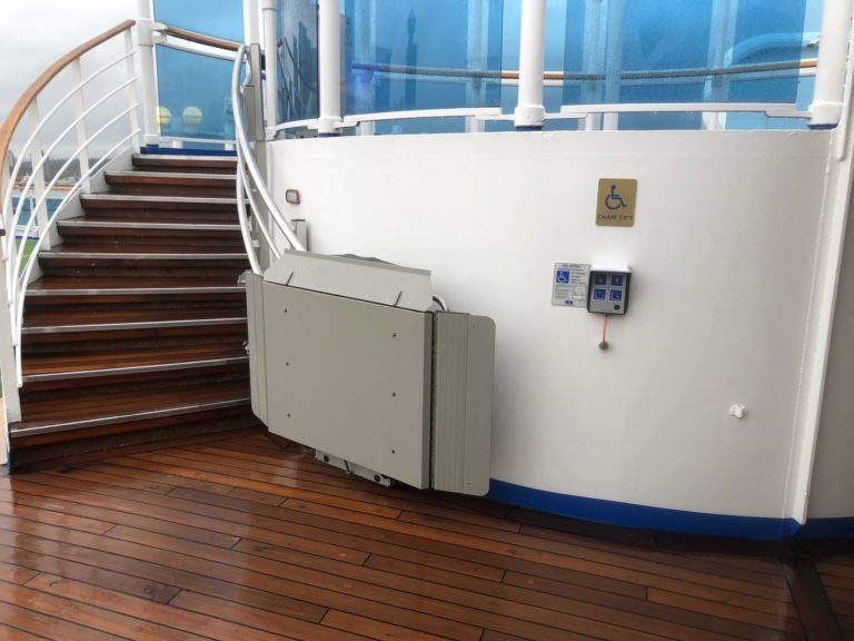 Artira installation on cruise ship