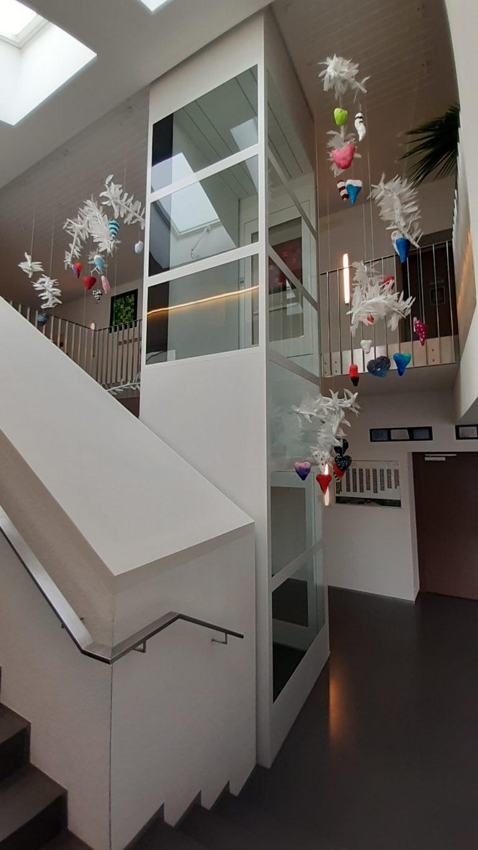 Genesis installation in school in Switzerland