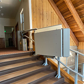 Artira installation at church in Lake Tahoe, California, USA