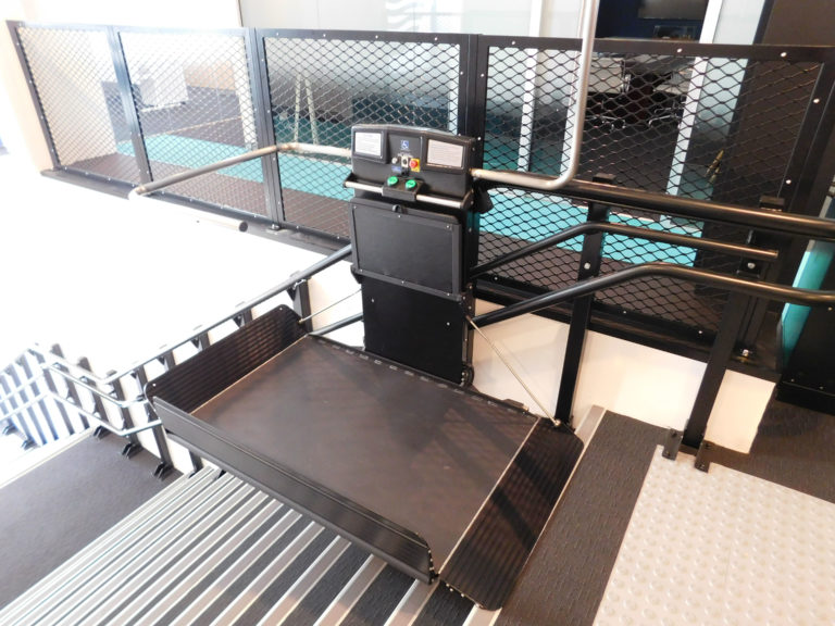 Black Artira in office building