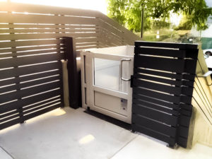 Outdoor Genesis Enclosure installation in Los Angeles, USA. Top floor
