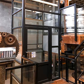 Genesis Enclosure installation in brewery in Vancouver