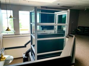 Genesis Enclosure in office building