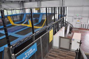 Genesis OPAL installed at an indoor Trampoline Park