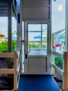 Genesis Enclosure indoor view